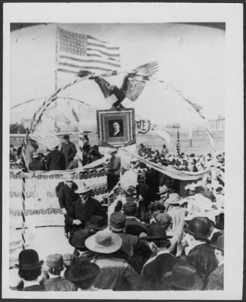 President Theodore Roosevelt in Ellis, Kansas - Page
