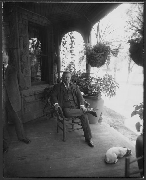 President Theodore Roosevelt with William Allen White - Page