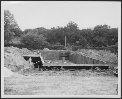 Construction of Rosenberry Building, Menninger East Campus, Topeka, Kansas - Page