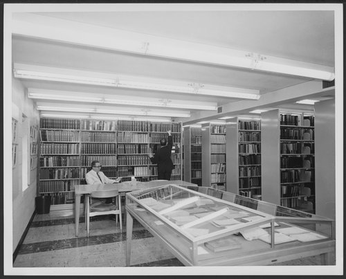 Medical Library at Menninger East Campus, Topeka, Kansas - Page