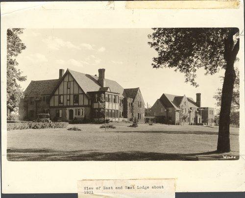 East and West Lodges, Menninger Clinic, Topeka, Kansas - Page