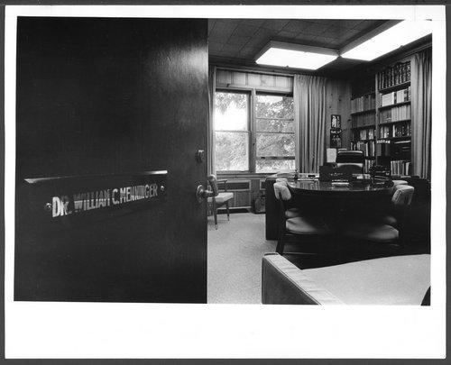 Office of William C. Menninger, M.D. - Page