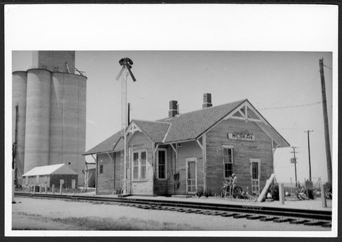 Union Pacific Railroad Company depot, Weskan, Kansas - Page