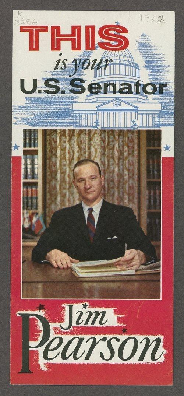 Jim Pearson, U.S. Senator - Page
