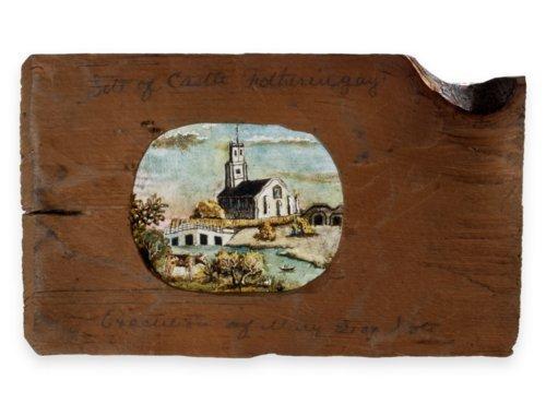 Samuel Reader lanternslide, Site of Castle Fotheringay - Page