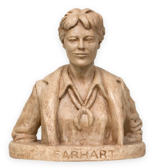 Amelia Earhart sculpture - Page