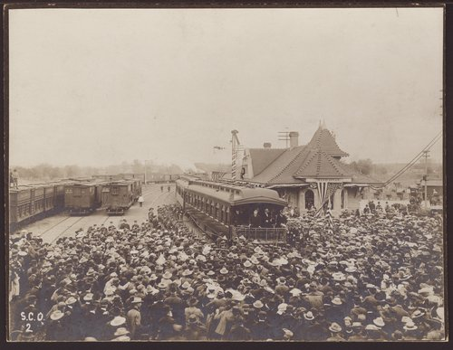 President Theodore Roosevelt at Manhattan, Kansas - Page