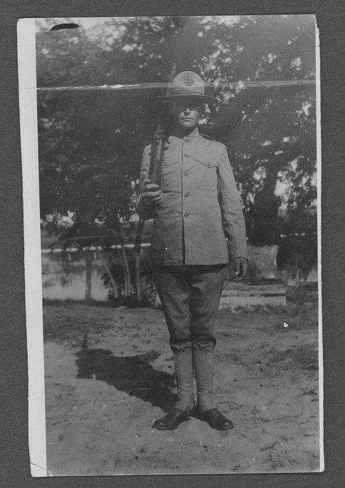 Earl William Baughman, World War I soldier - Page