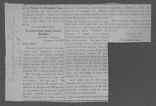 Emery Bearden, World War I soldier - Page
