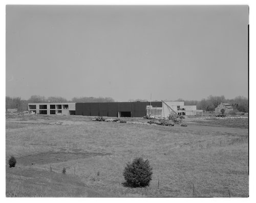 Construction on the Kansas State Historical Society's museum in Topeka, Kansas - Page