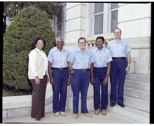 Maintenance staff at the Kansas State Historical Society - Page