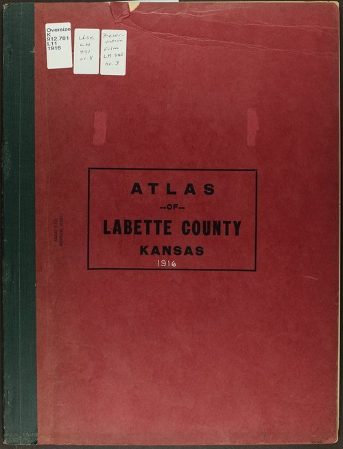 Atlas and plat book of Labette County, Kansas - Page