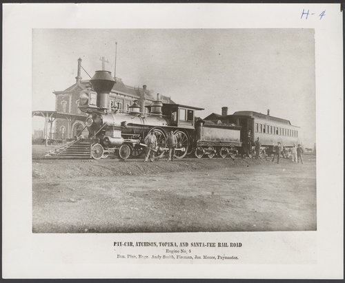 Atchison, Topeka and Santa Fe Railway Company's steam locomotive #5 - Page