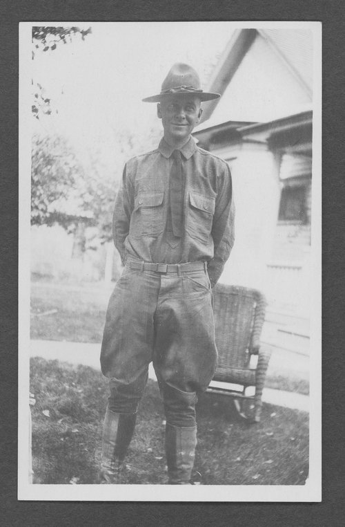 Edwin A. Beers, World War I soldier - Page
