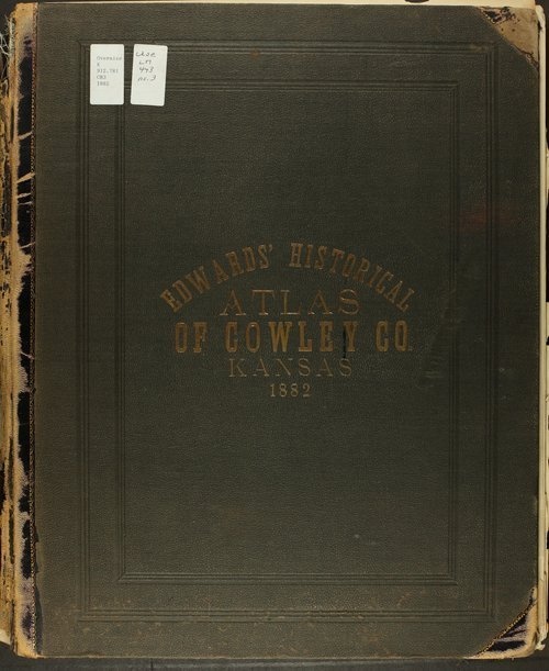 Historical atlas of Cowley County, Kansas - Page