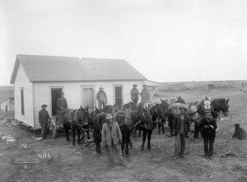 Moving residence out of Reservoir No. 5 site in Finney County, Kansas - Page