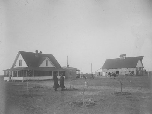 Guy Davis farm, Garden City Township in Finney County, Kansas - Page