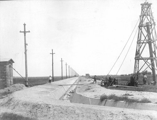 Government power line and wells in Finney County, Kansas - Page