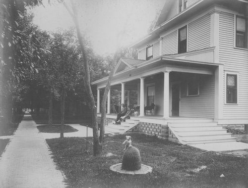 Mayor G. L. Miller's residence, Garden City, Kansas - Page
