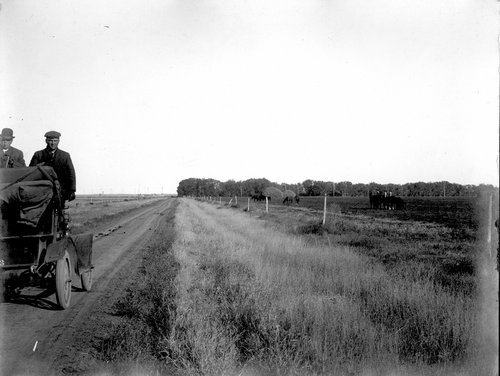 Dirt road, Finney County, Kansas - Page
