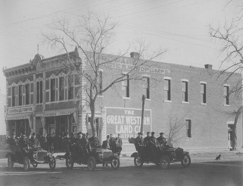 Erisman building on Main Street in Garden City, Kansas - Page