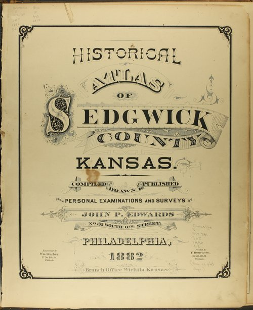 Historical Atlas of Sedgwick County, Kansas - Page