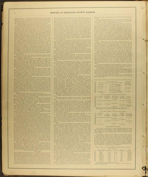 Historical Atlas of Sedgwick County, Kansas - Page