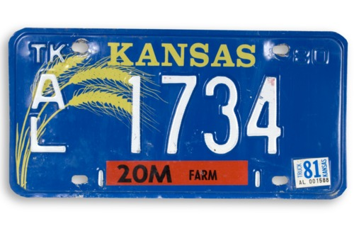 License plate - Page
