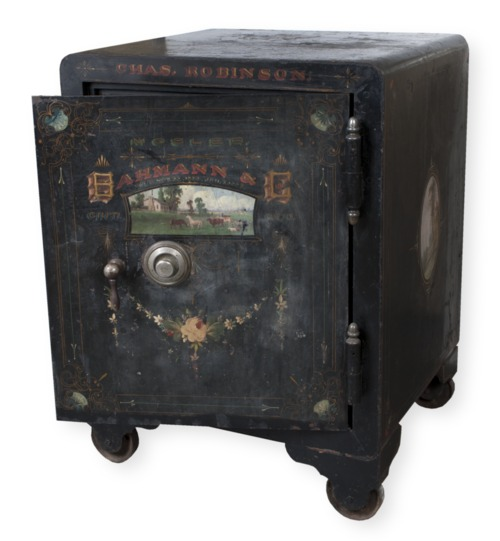 Governor Charles Robinson's safe - Page