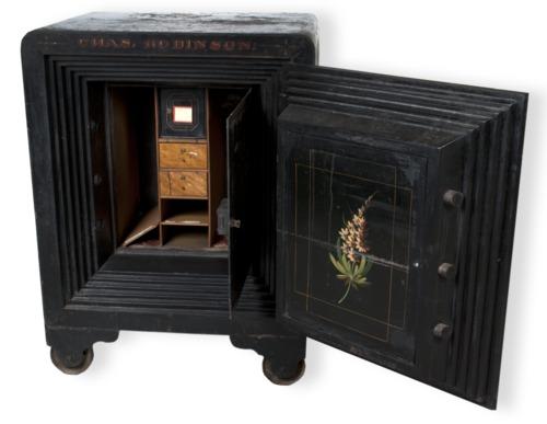 Governor Charles Robinson's safe - Page