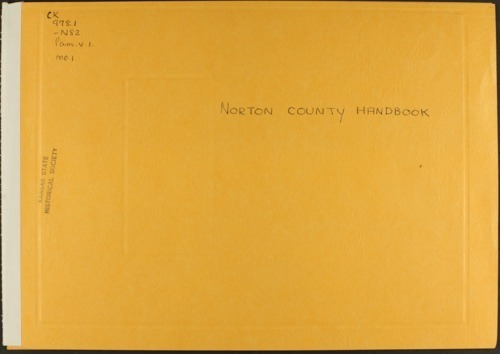 Handbook of Norton County, Kansas - Page
