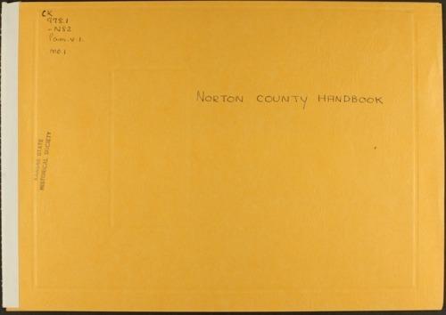 Handbook of Norton County, Kansas - Page