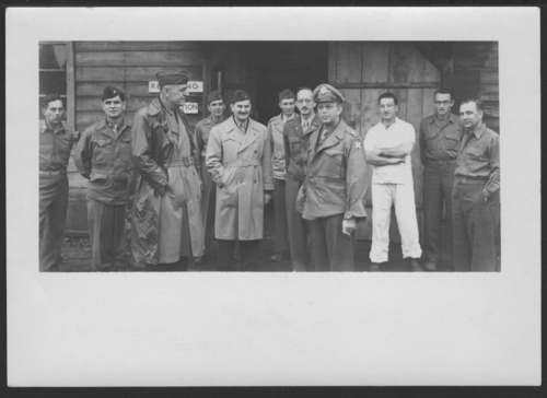 Col. William Menninger at the 99th Evacuation Hospital in Japan - Page