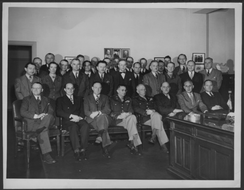 Consultants to the Secretary of War meeting in 1940 - Page