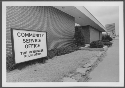 Community service office, Menninger Foundation in Topeka, Kansas - Page