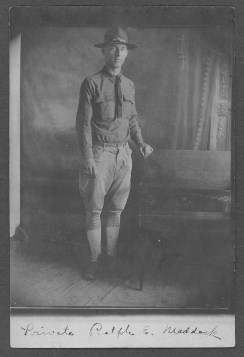 Ralph E. Maddock, World War I soldier - Page