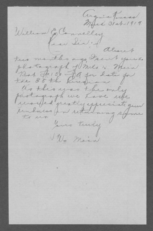 Milo Hugh Main, World War I soldier - Page