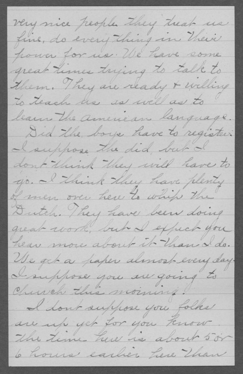 Clifford Dewey Marrs, World War I soldier - Page