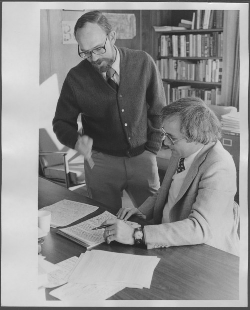John Connelly, M.D., and George Athey, Ph.D. - Page