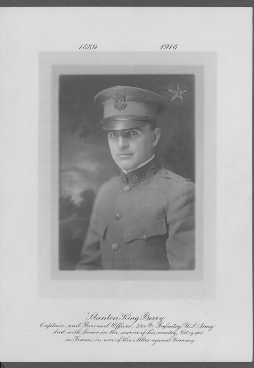 Stanton King Berry, World War I soldier - Page