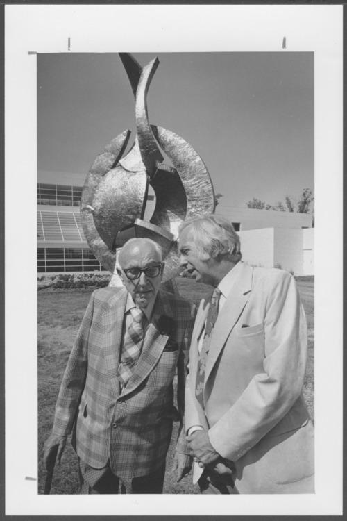 Karl Menninger, M.D. and Roy Menninger, M.D. - Page