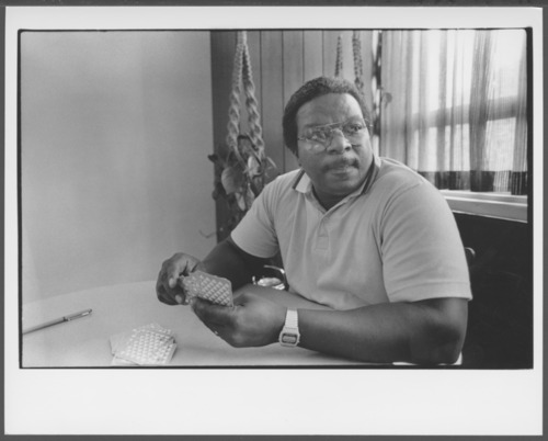 Larry Wynne, child care worker at the Menninger Clinic - Page