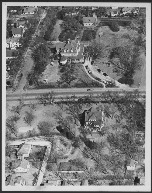 Aerial view of Menninger Clinic Children's Division, Topeka, Kansas - Page