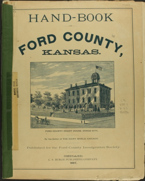 Handbook of Ford County, Kansas - Page