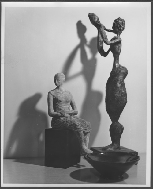 Sculptures by Menninger Clinic patients, Topeka, Kansas - Page