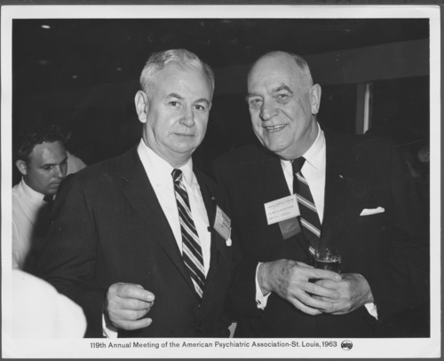 Dr. William Menninger and Dr. Francis Braceland - Page