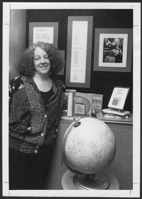Harriet Goldhor Lerner, Ph.D., at the Menninger Foundation, Topeka, Kansas - Page