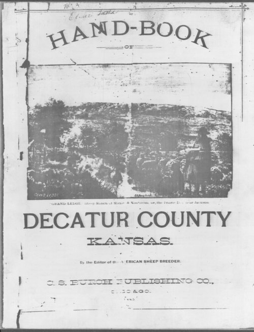 Handbook of Decatur County, Kansas - Page