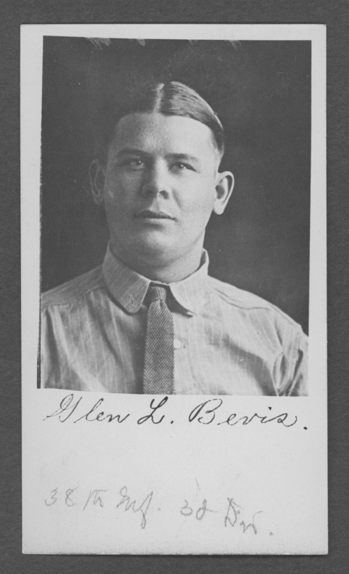Glen Lynn Bevis, World War I soldier - Page