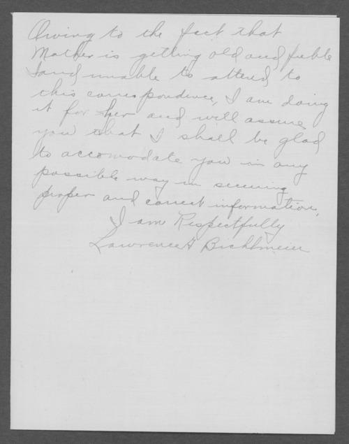 Aloysius Bichlmeier, World War I soldier - Page